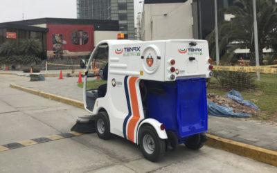 ENTREGA MAQUINA BARREDORA ELECTRA 1.0 UNIVERSIDAD DE LIMA