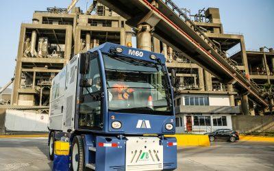 Entrega Barredora Macro M60 a la empresa Aliaga & Baluis