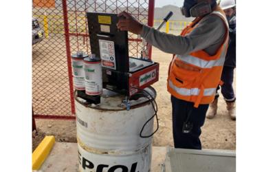 Entrega equipo para tratamiento de latas de aerosol